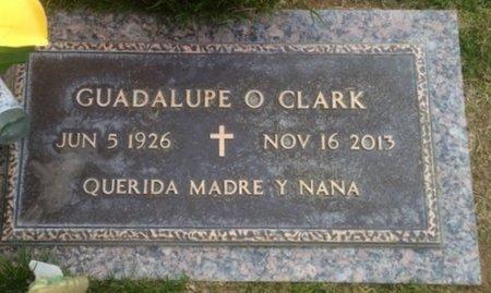 CLARK, GUADALUPE O. - Pima County, Arizona   GUADALUPE O. CLARK - Arizona Gravestone Photos