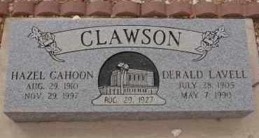 CLAWSON, HAZEL - Pima County, Arizona | HAZEL CLAWSON - Arizona Gravestone Photos