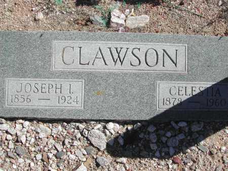 CLAWSON, JOSEPH I. - Pima County, Arizona | JOSEPH I. CLAWSON - Arizona Gravestone Photos