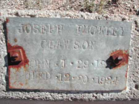 CLAWSON, JOSEPH IMCKLEY - Pima County, Arizona | JOSEPH IMCKLEY CLAWSON - Arizona Gravestone Photos