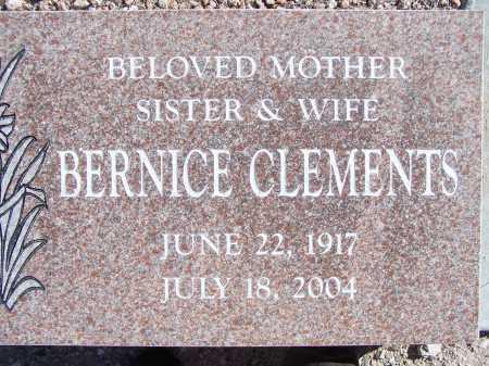 CLEMENTS, BERNICE - Pima County, Arizona | BERNICE CLEMENTS - Arizona Gravestone Photos