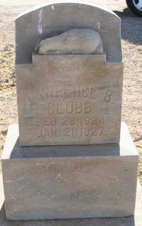 CLUBB, LAWRENCE B - Pima County, Arizona | LAWRENCE B CLUBB - Arizona Gravestone Photos