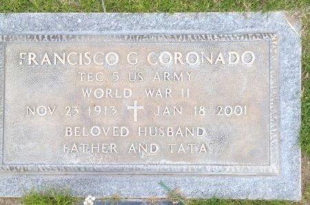 CORONADO, FRANCISCO GARCIA - Pima County, Arizona | FRANCISCO GARCIA CORONADO - Arizona Gravestone Photos