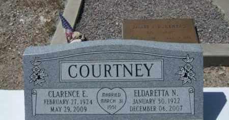 COURTNEY, ELDARETTA N. - Pima County, Arizona | ELDARETTA N. COURTNEY - Arizona Gravestone Photos