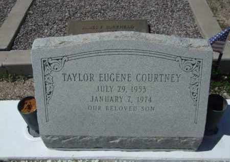 COURTNEY, TAYLOR EUGENE - Pima County, Arizona | TAYLOR EUGENE COURTNEY - Arizona Gravestone Photos