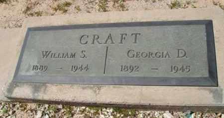 CRAFT, GEORGIA D. - Pima County, Arizona | GEORGIA D. CRAFT - Arizona Gravestone Photos