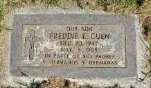 CUEN, FREDDIE - Pima County, Arizona   FREDDIE CUEN - Arizona Gravestone Photos
