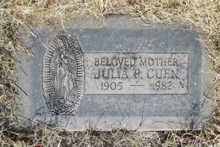CUEN, JULIA - Pima County, Arizona | JULIA CUEN - Arizona Gravestone Photos
