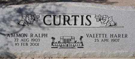 CURTIS, AMMON RALPH - Pima County, Arizona   AMMON RALPH CURTIS - Arizona Gravestone Photos