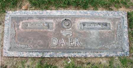 WEST DAER, DAISY E. - Pima County, Arizona | DAISY E. WEST DAER - Arizona Gravestone Photos