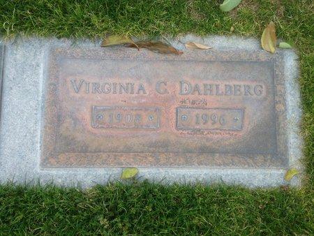 DAHLBERG, VIRGINIA C. - Pima County, Arizona | VIRGINIA C. DAHLBERG - Arizona Gravestone Photos