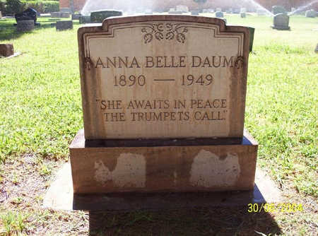 DAVIS DAUM, ANNA BELLE - Pima County, Arizona | ANNA BELLE DAVIS DAUM - Arizona Gravestone Photos