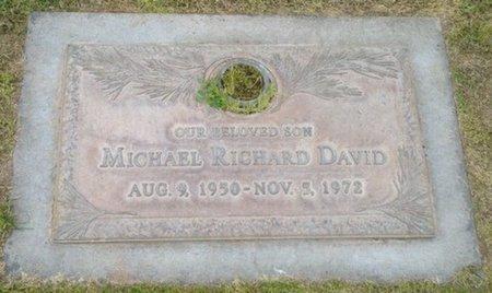 DAVID, MICHAEL RICHARD - Pima County, Arizona | MICHAEL RICHARD DAVID - Arizona Gravestone Photos