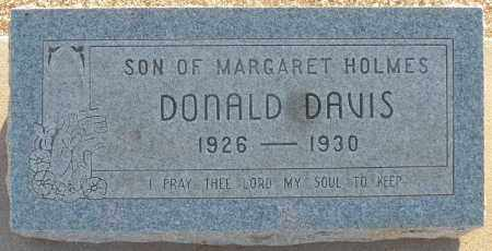 DAVIS, DONALD B. - Pima County, Arizona | DONALD B. DAVIS - Arizona Gravestone Photos