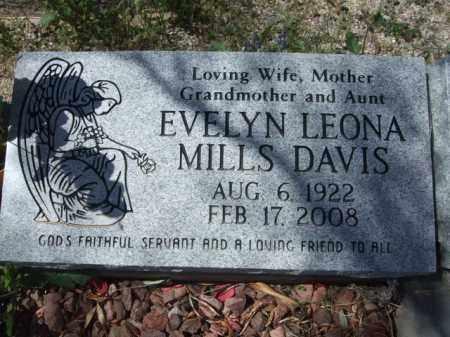 DAVIS, EVELYN LEONA - Pima County, Arizona   EVELYN LEONA DAVIS - Arizona Gravestone Photos