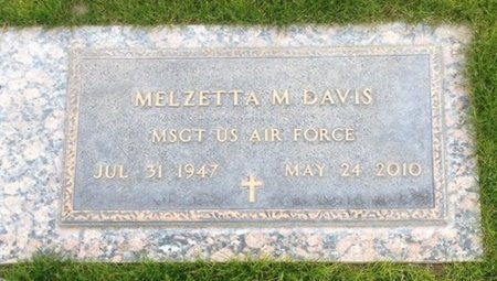 DAVIS, MELZETTA M - Pima County, Arizona | MELZETTA M DAVIS - Arizona Gravestone Photos