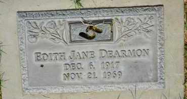 DEARMON, EDITH JANE - Pima County, Arizona | EDITH JANE DEARMON - Arizona Gravestone Photos