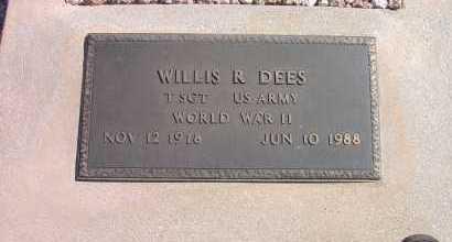 DEES, WILLIS REID - Pima County, Arizona | WILLIS REID DEES - Arizona Gravestone Photos