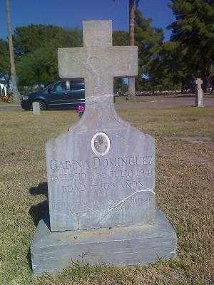 DOMINGUEZ, GABINA - Pima County, Arizona | GABINA DOMINGUEZ - Arizona Gravestone Photos