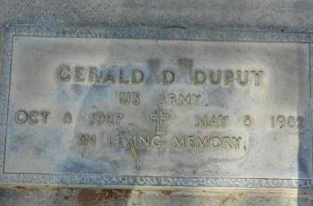 DUPUY, GERALD D. - Pima County, Arizona | GERALD D. DUPUY - Arizona Gravestone Photos