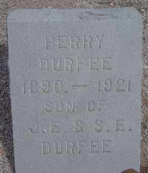 DURFEE, PERRY - Pima County, Arizona | PERRY DURFEE - Arizona Gravestone Photos