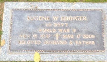 EDINGER, EUGENE WILLIAM - Pima County, Arizona | EUGENE WILLIAM EDINGER - Arizona Gravestone Photos