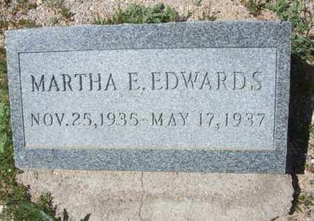 EDWARDS, MARTHA E. - Pima County, Arizona | MARTHA E. EDWARDS - Arizona Gravestone Photos