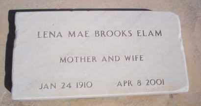 ELAM, LENA MAE - Pima County, Arizona | LENA MAE ELAM - Arizona Gravestone Photos