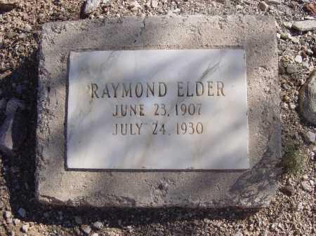 ELDER, RAYMOND - Pima County, Arizona | RAYMOND ELDER - Arizona Gravestone Photos