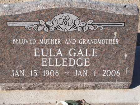 ELLEDGE, EULA GALE - Pima County, Arizona | EULA GALE ELLEDGE - Arizona Gravestone Photos