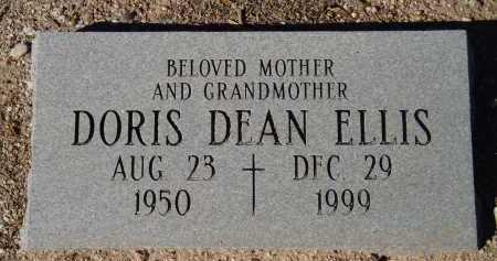 ELLIS, DORIS DEAN - Pima County, Arizona   DORIS DEAN ELLIS - Arizona Gravestone Photos