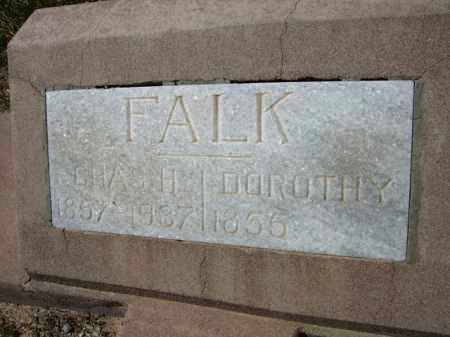 FALK, CHAS H. - Pima County, Arizona | CHAS H. FALK - Arizona Gravestone Photos