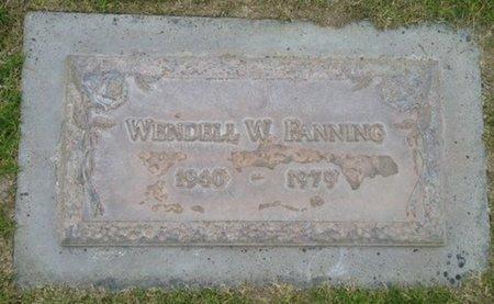 FANNING, WENDELL W. - Pima County, Arizona   WENDELL W. FANNING - Arizona Gravestone Photos