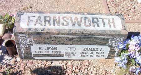 FARNSWORTH, JAMES L. - Pima County, Arizona | JAMES L. FARNSWORTH - Arizona Gravestone Photos