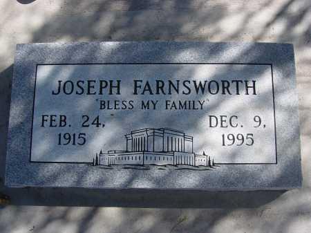 FARNSWORTH, JOSEPH - Pima County, Arizona   JOSEPH FARNSWORTH - Arizona Gravestone Photos
