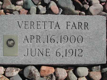 FARR, VERETTA - Pima County, Arizona | VERETTA FARR - Arizona Gravestone Photos