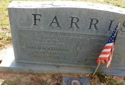 FARRIS, DONALD RAYMOND - Pima County, Arizona   DONALD RAYMOND FARRIS - Arizona Gravestone Photos