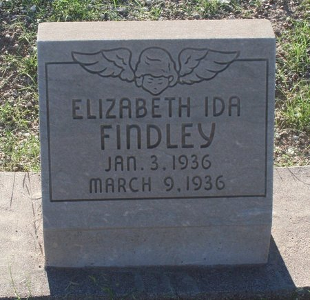 FINDLEY, ELIZABETH IDA - Pima County, Arizona | ELIZABETH IDA FINDLEY - Arizona Gravestone Photos