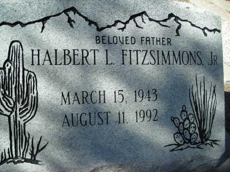 FITZSIMMONS, HALBERT L., JR. - Pima County, Arizona   HALBERT L., JR. FITZSIMMONS - Arizona Gravestone Photos
