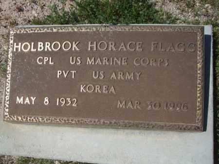 FLAGG, HOLBROOK HORACE - Pima County, Arizona | HOLBROOK HORACE FLAGG - Arizona Gravestone Photos