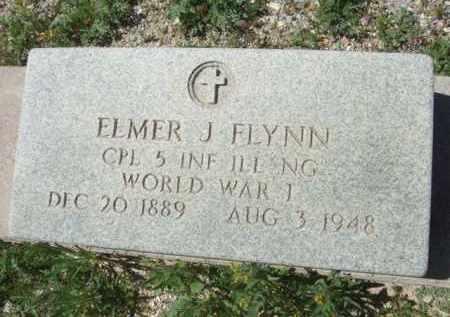 FLYNN, ELMER J. - Pima County, Arizona   ELMER J. FLYNN - Arizona Gravestone Photos