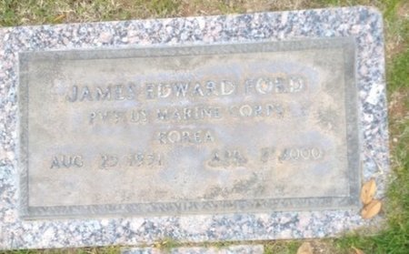 FORD, JAMES EDWARD - Pima County, Arizona   JAMES EDWARD FORD - Arizona Gravestone Photos