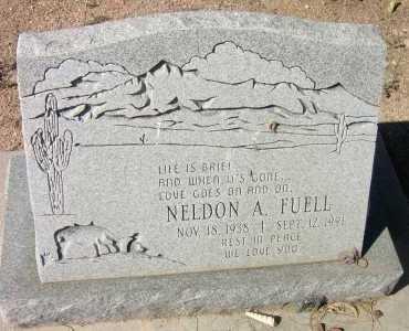 FUELL, NELDON A. - Pima County, Arizona   NELDON A. FUELL - Arizona Gravestone Photos