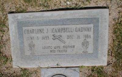 GADWAY, CHARLENE - Pima County, Arizona | CHARLENE GADWAY - Arizona Gravestone Photos