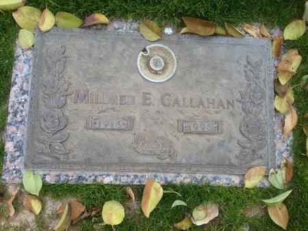 GALLAHAN, MILDRED E. - Pima County, Arizona | MILDRED E. GALLAHAN - Arizona Gravestone Photos