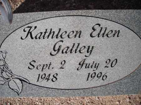 GALLEY, KATHLEEN ELLEN - Pima County, Arizona | KATHLEEN ELLEN GALLEY - Arizona Gravestone Photos