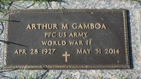 GAMBOA, ARTHUR M - Pima County, Arizona | ARTHUR M GAMBOA - Arizona Gravestone Photos