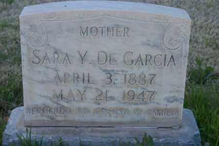 GARCIA, SARA Y. - Pima County, Arizona | SARA Y. GARCIA - Arizona Gravestone Photos