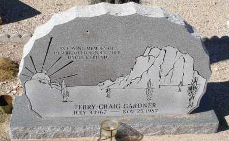 GARDNER, TERRY CRAIG - Pima County, Arizona | TERRY CRAIG GARDNER - Arizona Gravestone Photos