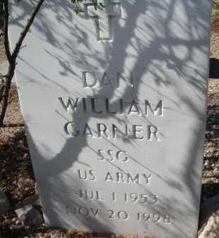 GARNER, DAN WILLIAM - Pima County, Arizona | DAN WILLIAM GARNER - Arizona Gravestone Photos